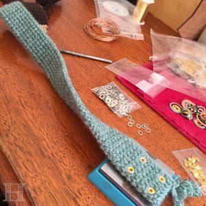 Tapestry Crochet Drawstring Bag Pattern : Drawstring Tapestry Crochet Bag - Muted Hues of Myth ...