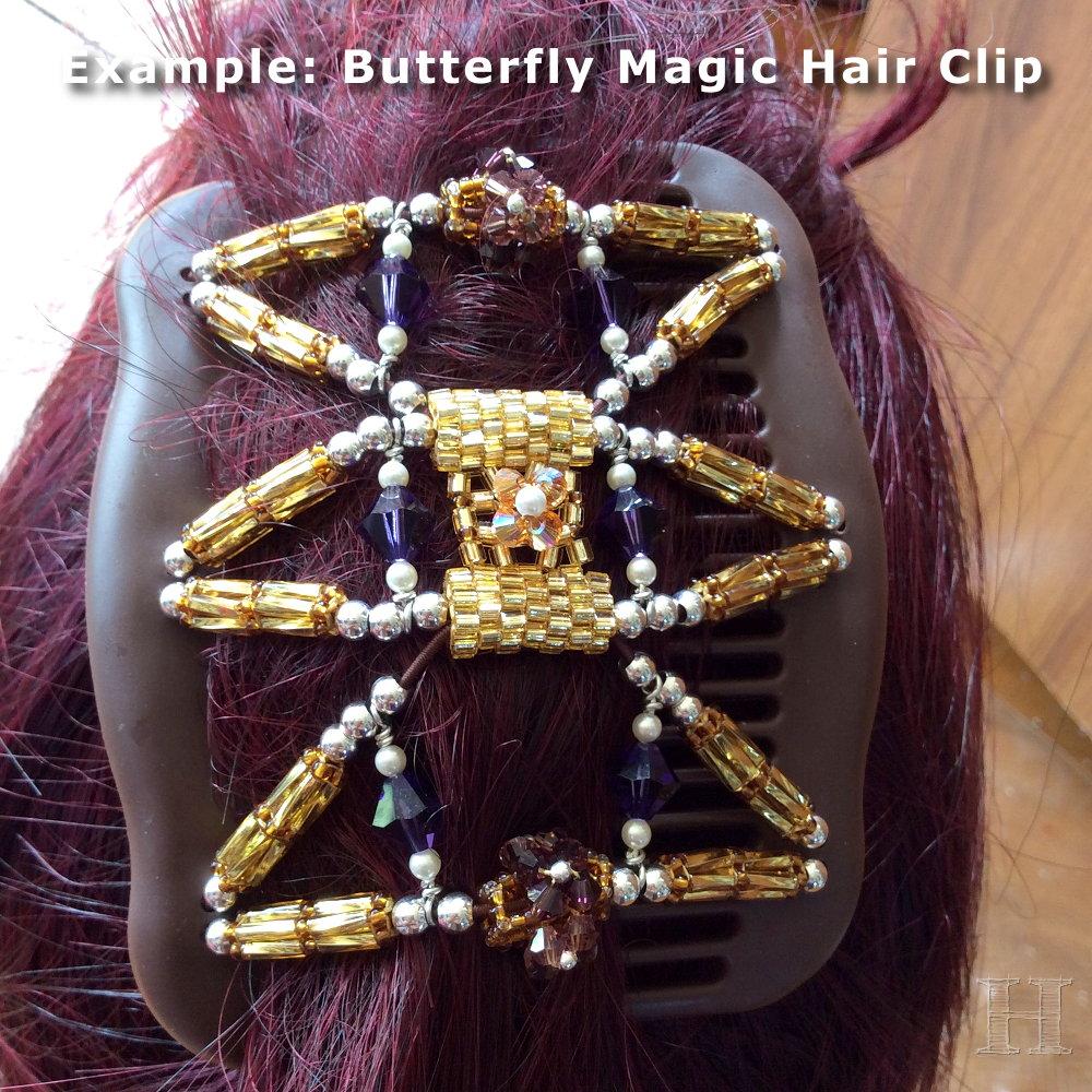 butterfly magic hair clip 001