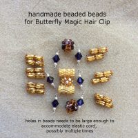 butterfly magic hair clip 005