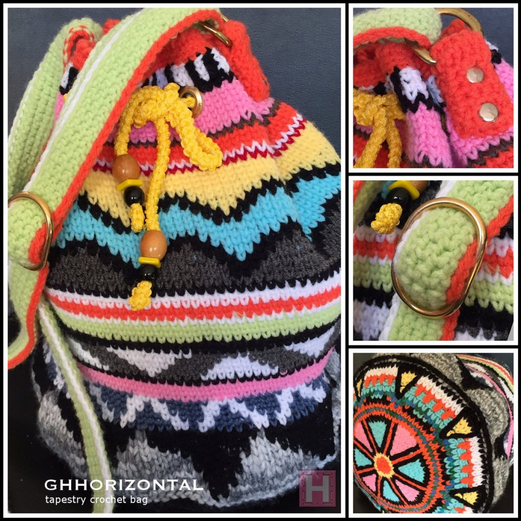 Tapestry Crochet Bag : GHHORIZONTAL Tapestry Crochet Bag ?ClearlyHelena