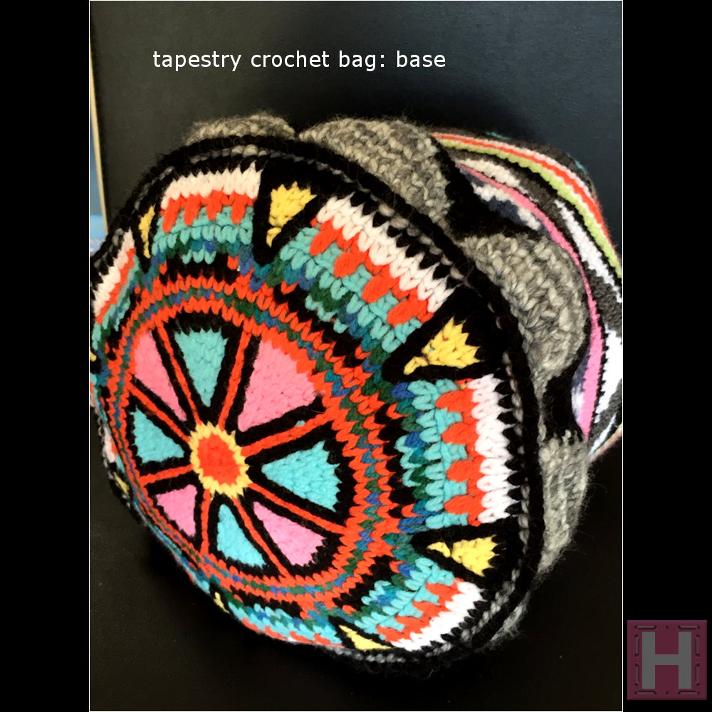 GHHORIZONTAL Tapestry Crochet Bag ?ClearlyHelena