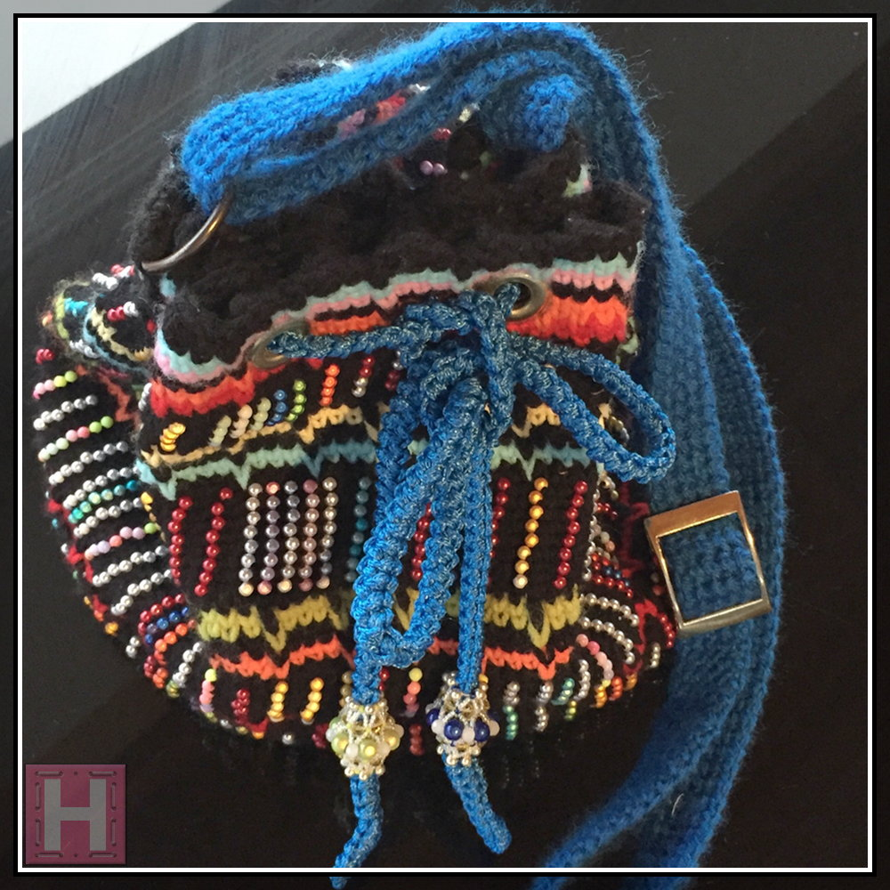 Embroidery with Beaded Paintings, or Shining Miracle