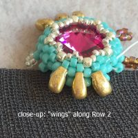 beaded owl earrings I - CH0424-017