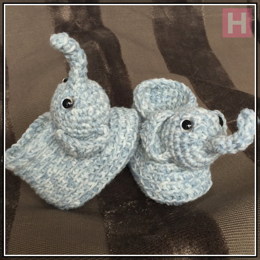 elephant booties CH0428-000