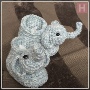 elephant booties CH0428-001