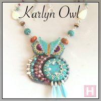 karlyn beaded owl ch0423-001