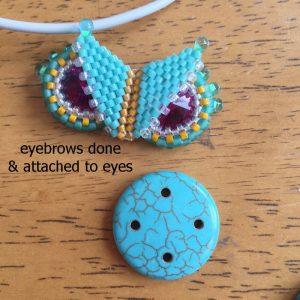 karlyn beaded owl ch0423-007
