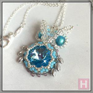nicole owl pendant necklace CH0432-002