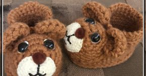 Teddy Bear Booties (How To)