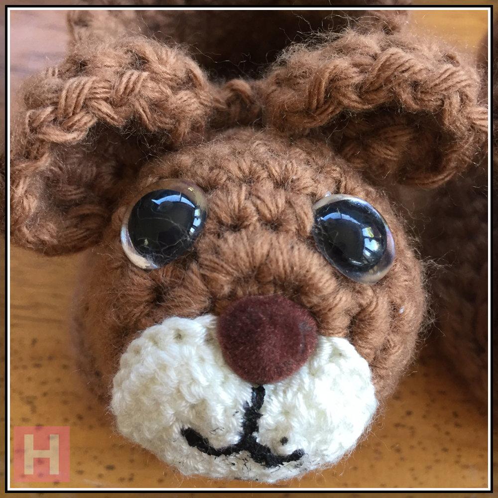teddy bear booties CH0429-001