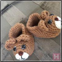 teddy bear booties CH0429-003