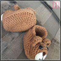 teddy bear booties CH0429-004