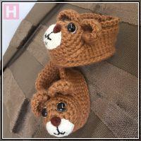 teddy bear booties CH0429-005