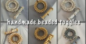Handmade Beaded Toggle Clasps