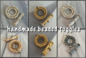 beaded toggles - CH0434-000