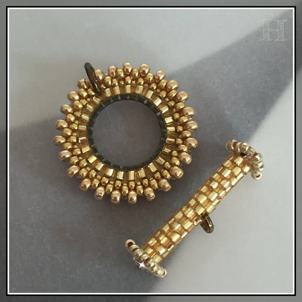 beaded toggles - CH0434-B00