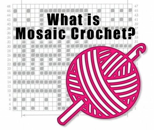 what is mosaic crochet