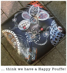 zentangle footstool 04