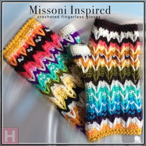 Missoni Inspired gloves - CH0441-000