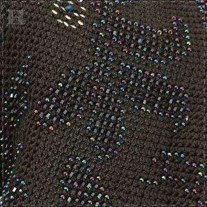 black bridal crop jacket CH0437-009