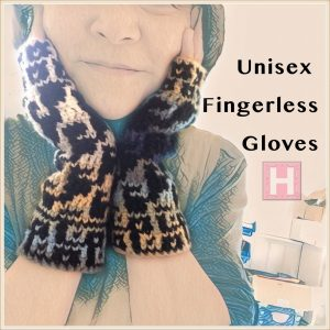 unisex fingerless gloves CH0438-000