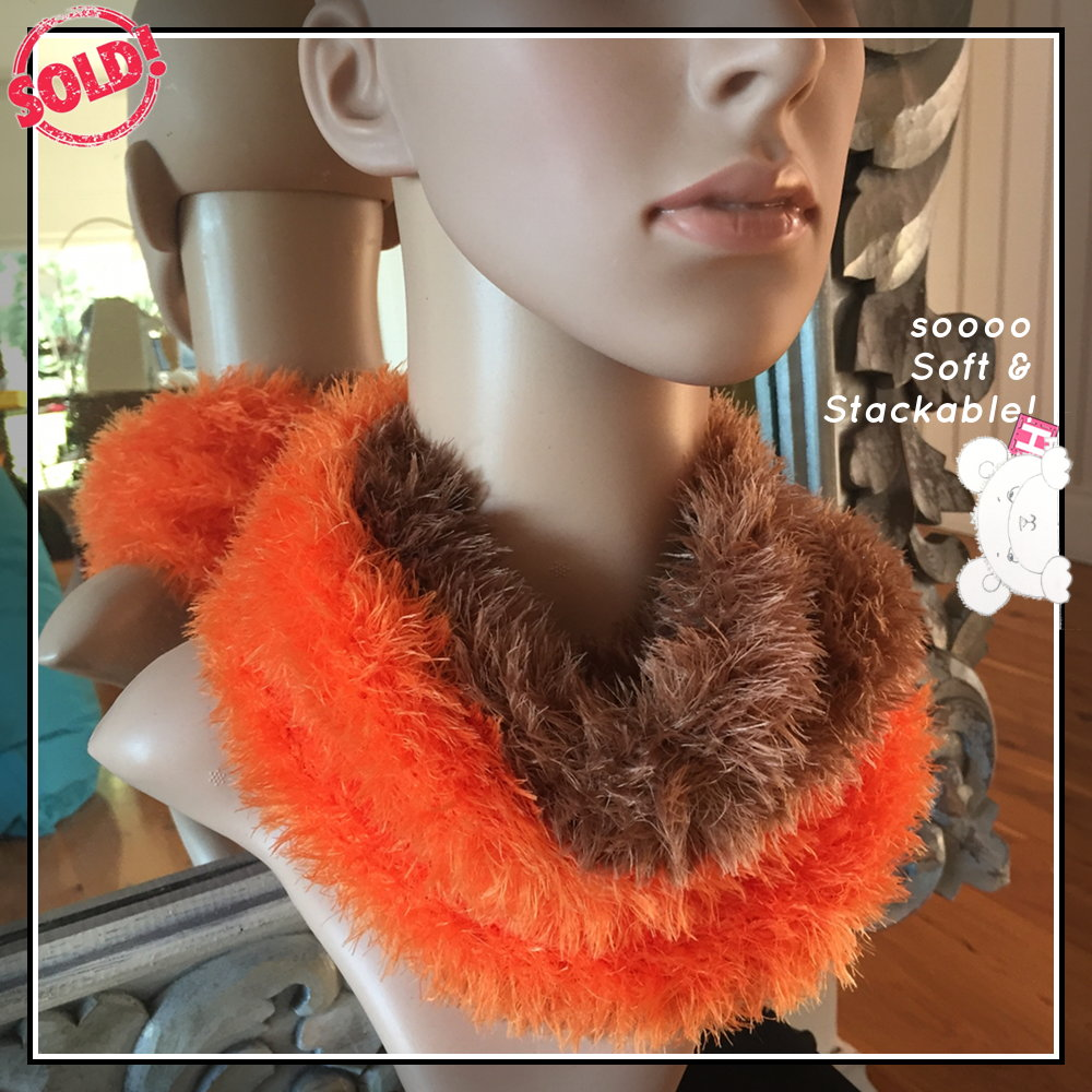 knitted cowl soo soft - CH0450-003s