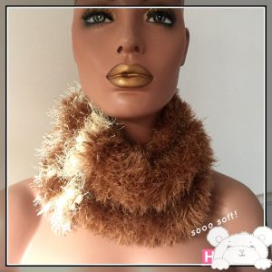 knitted cowl soo soft - CH0450a-001