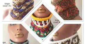 KOGO Crochet Cowls – neck warmers