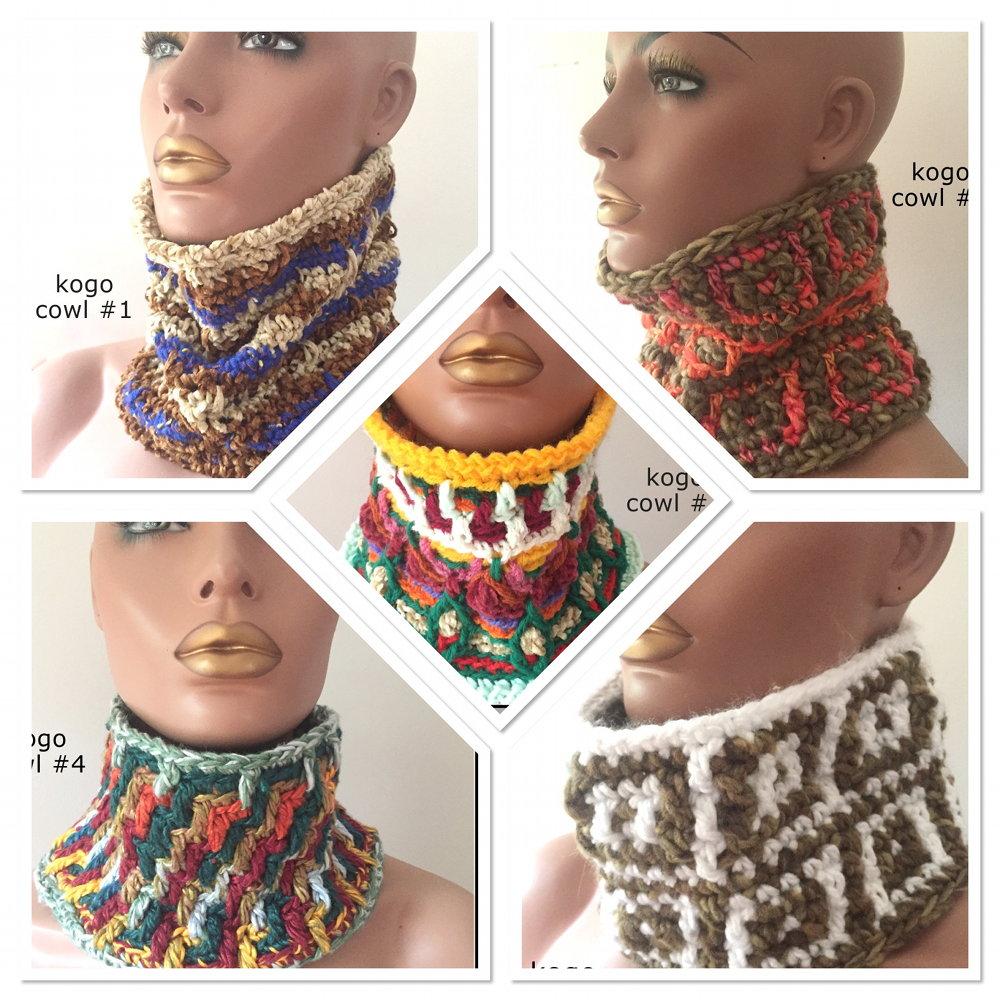 kogo crochet cowls CH0448-000