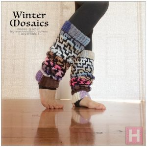 winter mosaic leg warmer CH0444-004