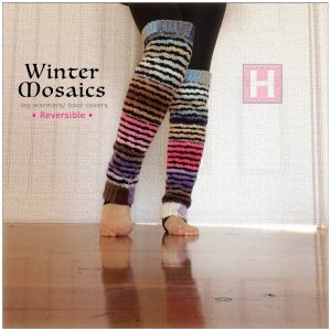 winter mosaic leg warmer CH0444-006