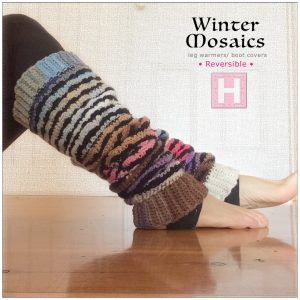 winter mosaic leg warmer CH0444-007