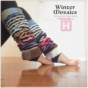 winter mosaic leg warmer CH0444-008