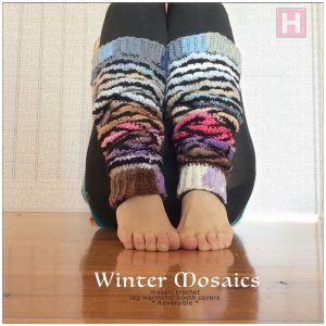 winter mosaic leg warmer CH0444-009