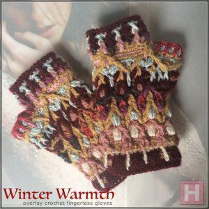 winter warmth fingerless gloves CH0447-000