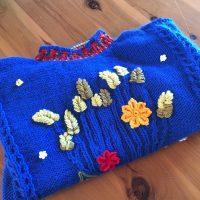 Corn Sheaf Jumper – knitted jumper CH0457