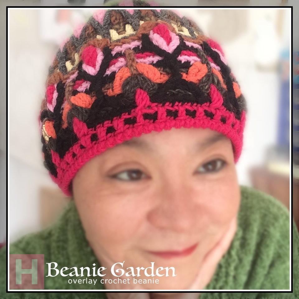 crochet beanie garden CH0453-000
