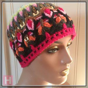 crochet beanie garden CH0453-002