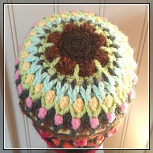 crochet beanie garden CH0453-005