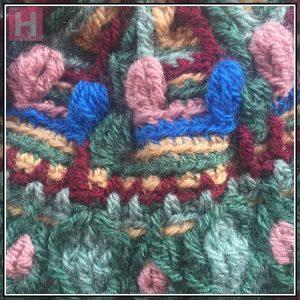 overlay crochet beanie BountifulForest CH0456-003