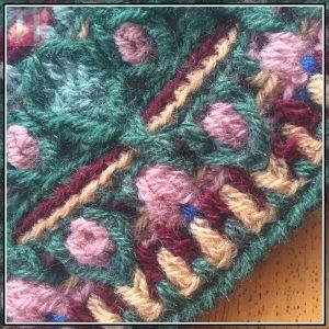 overlay crochet beanie BountifulForest CH0456-004