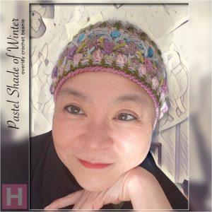 overlay crochet beanie - CH0455-000