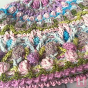 overlay crochet beanie - CH0455-006