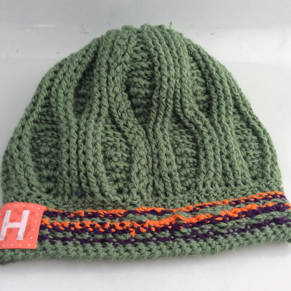 3D Leaves Crochet Beanie CH0460-004