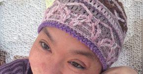Overlay Crochet Beanie – Gentle Warmth (CH0459)
