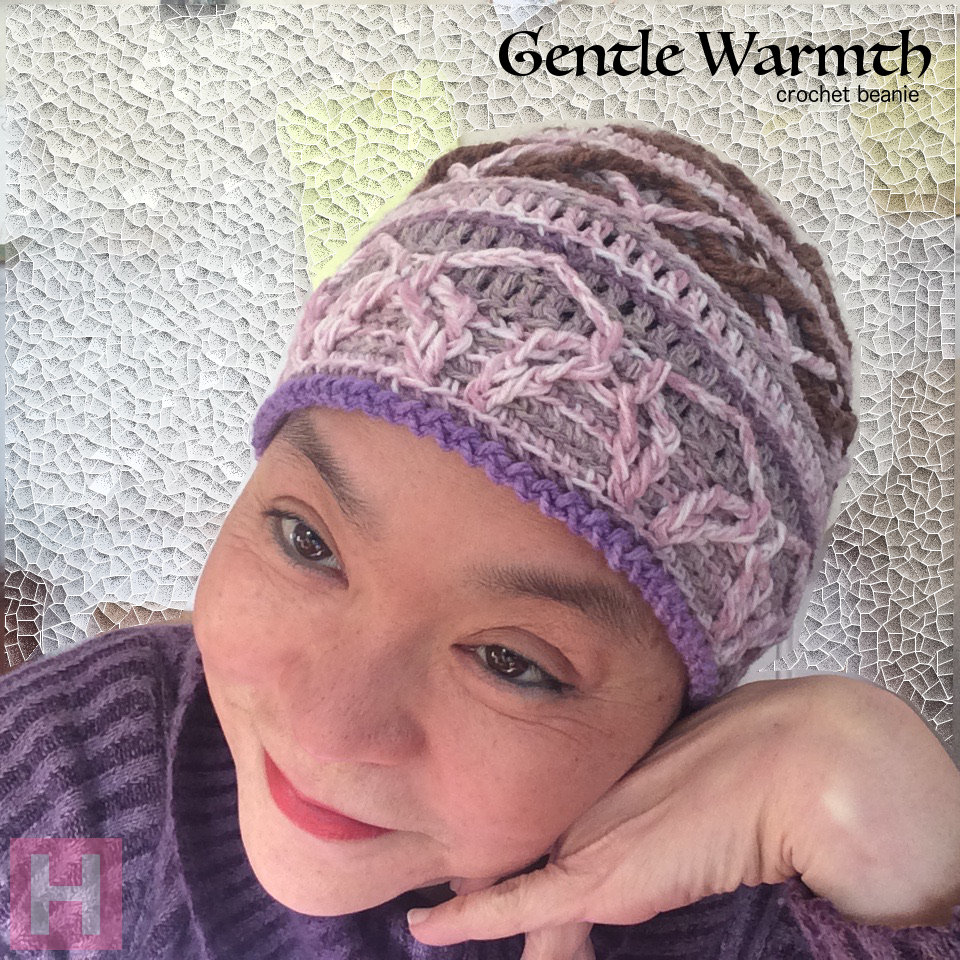 crochet beanie gentle warmth CH0459-001