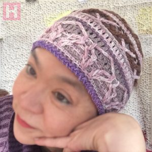 crochet beanie gentle warmth CH0459-002