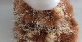 Sooo Soft Cowl – Brown w/ Stripe (CH0450A – Sold)