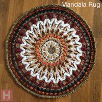 Mandala Rug – Overlay Crochet CH0461 (N/A)
