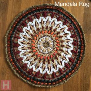 Mandala Rug - Overlay Crochet CH0461 (N/A)